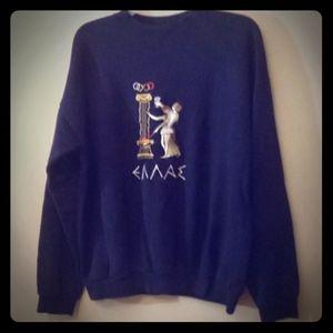 Greek Olympians sweatshirt